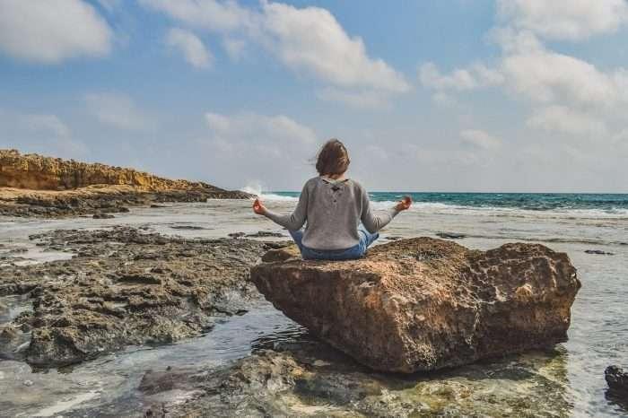 Girl Meditation Nature Yoga
